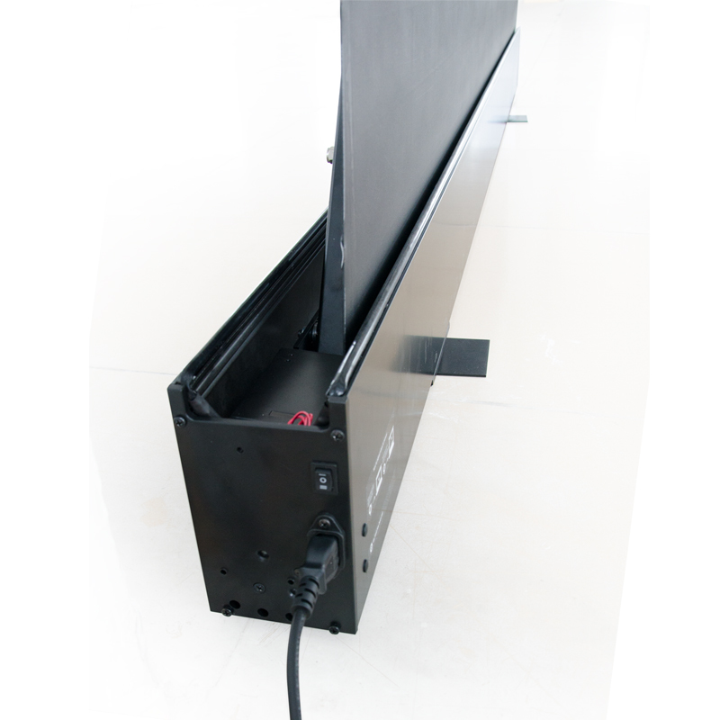 XY Screens rising projection screen price with good price for home