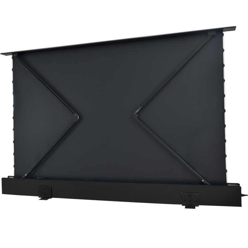 Wholesale rising floor pull up projector screen XY Screens Brand