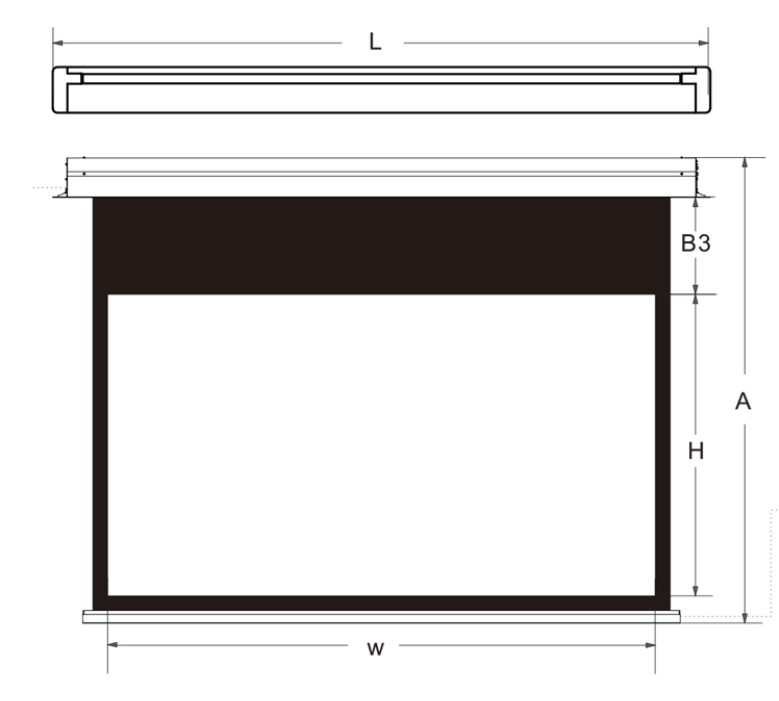 XY Screens theater projector screen factory for living room-8