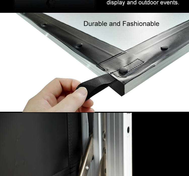 XY Screens fast folding outdoor pull down projector screen wholesale for square