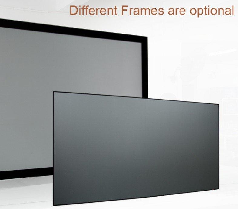 XY Screens-Slim Bezel High Gain Ambient Light Rejecting Projector Screen Zhk100b-black-2