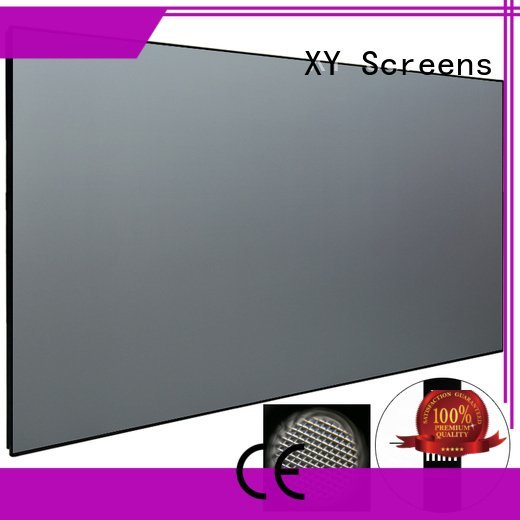 short crystal zhk100bpet ultra XY Screens ultra short throw projector screen