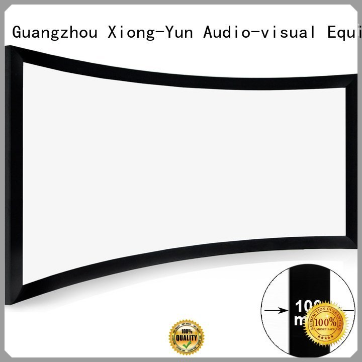 cinema projector screen curved home cinema projector XY Screens