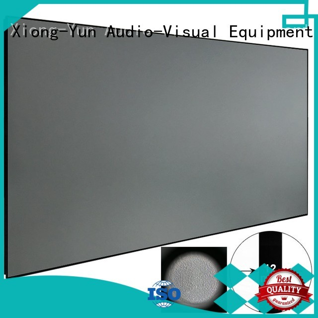 XY Screens best projector for ambient light factory price for household