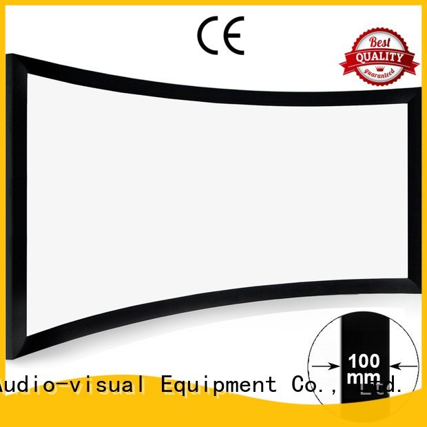 XY Screens Brand curved widescreen series home cinema projector screen