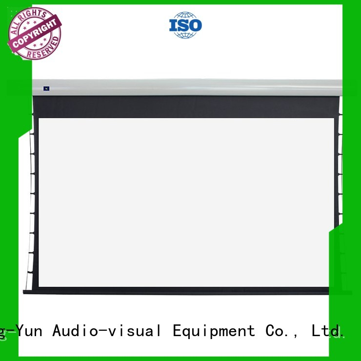 alr tab tensioned projector screen spring system for household XY Screens