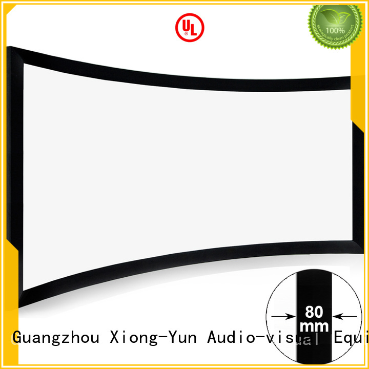 slim Home Entertainment Curved Projector Screens personalized for household