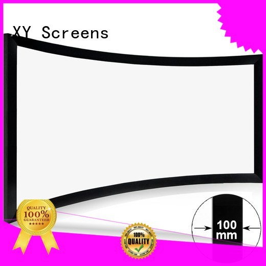 slim wholesale projector screens customized for rooms
