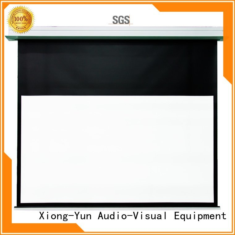 OEM home theater screen hcl1 electric projector Home theater projection screen