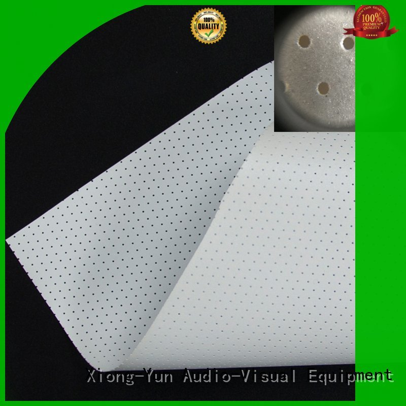 acoustic fabric customized for projector screen XY Screens