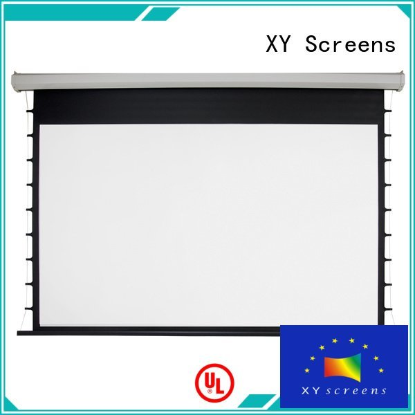 XY Screens down Motorized Retractable Projector Screen 140180 projector