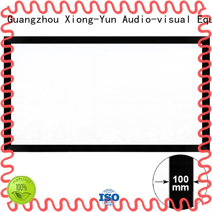 Large Cinema Fixed Frame Projector Screen HK100C Series