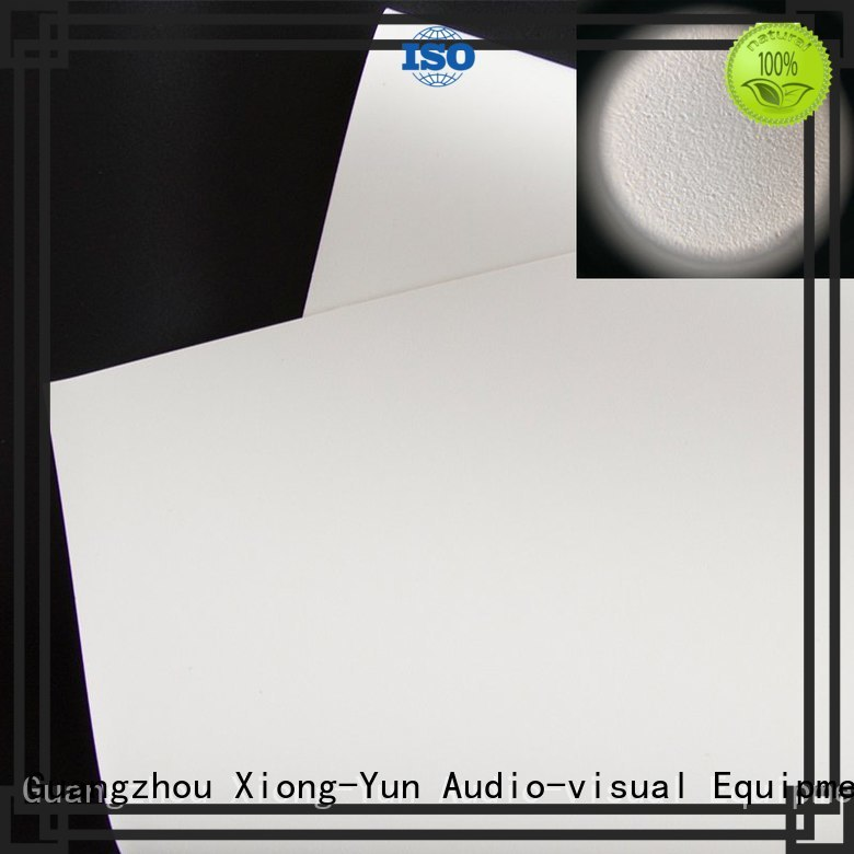 professional projector screen fabric china with good price for motorized projection screen