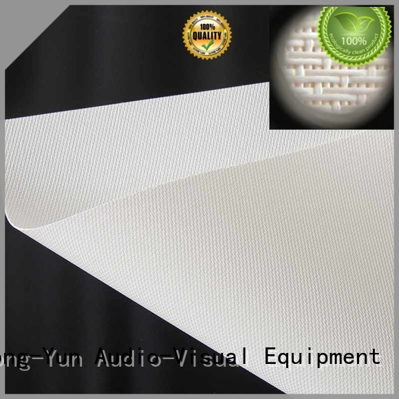 XY Screens Acoustically Transparent Fabrics directly sale for thin frame projector screen