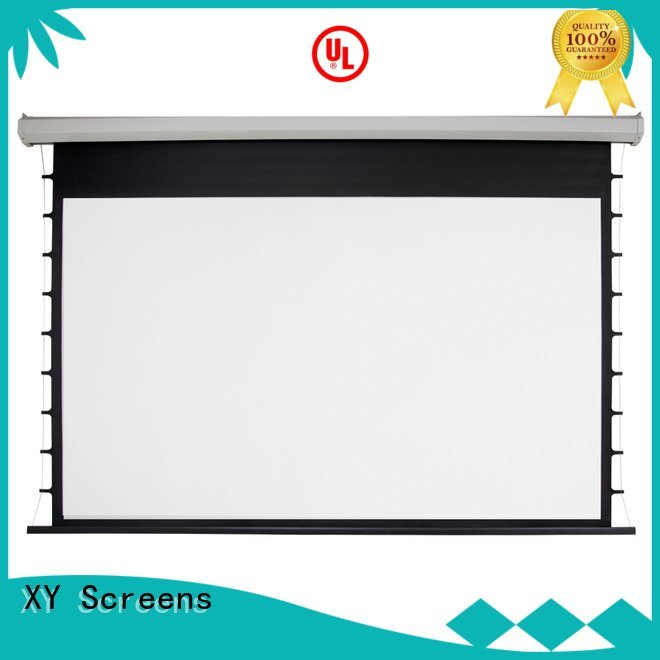 Electric Drop Down Movie Screen projector Motorized Retractable Projector Screen e300b