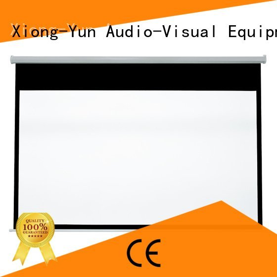pull down rear projection screen pull school down screen