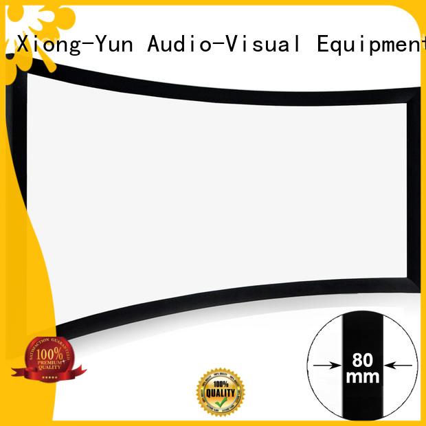 curved home entertainment center czhk100b bezel XY Screens