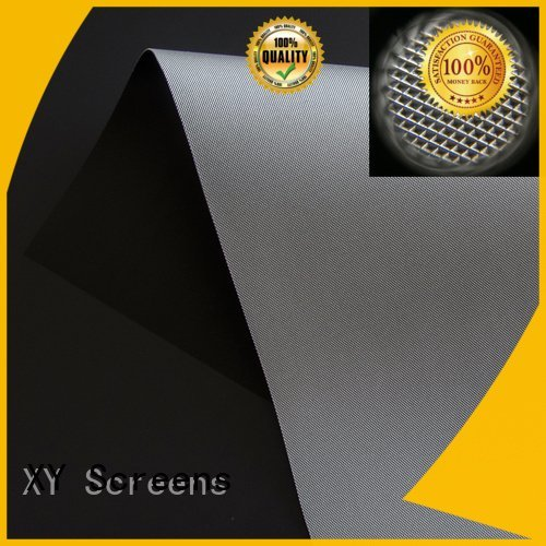 matte white fabric for projection screen crystal Ambient Light Rejecting Fabrics XY Screens Brand