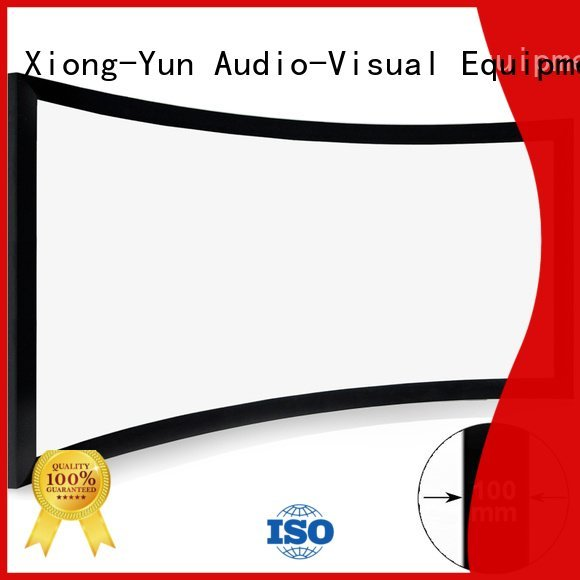 XY Screens Brand chk100c series home cinema projector screen curved