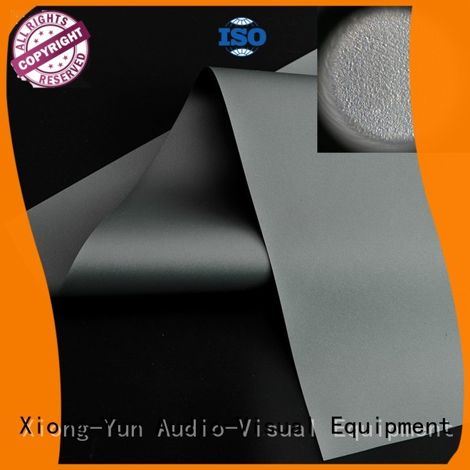 XY Screens best projector screen material manufacturer for motorized projection screen