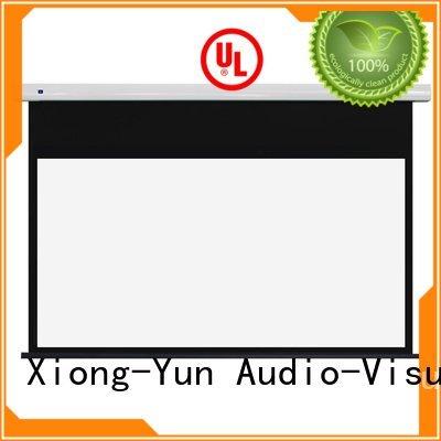 series ec2 XY Screens Standard motorized series