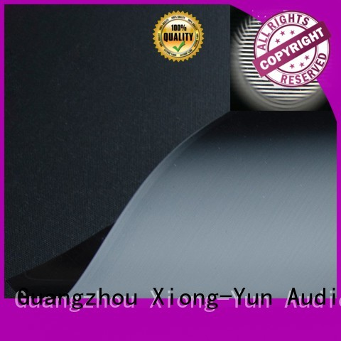 XY Screens Ambient Light Rejecting Fabrics manufacturer for fixed frame projection screen