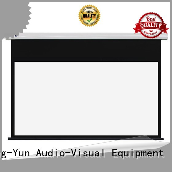 inceiling Home theater projection screen design for home