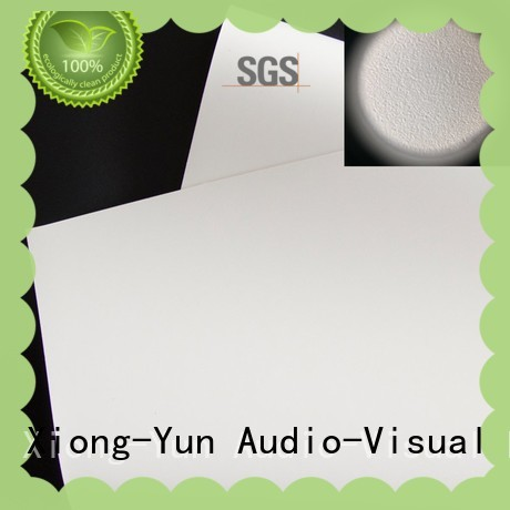XY Screens quality front fabrics inquire now for projector screen