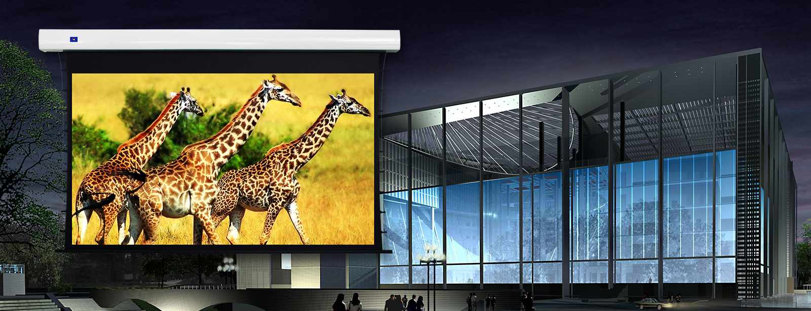 category-Motorized Screens And Projector Screen Supplier Company-XY Screens-img