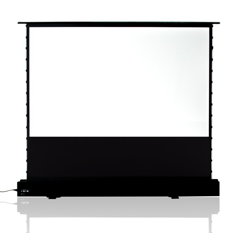 Electric Floor Rising Projector Screen EDL-PU