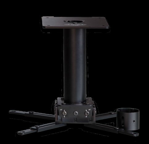 XY Screens ceiling projector mount customized for movies-3