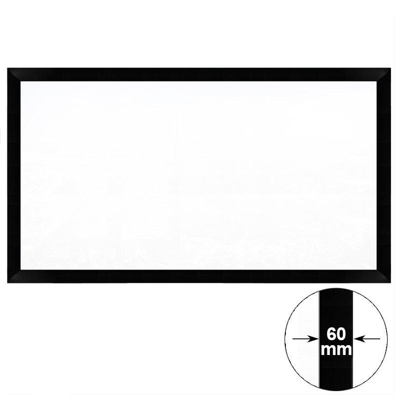XY Screens KTV/ Mini Cinema Fixed Frame Projector Screen HK60B Series Commercial Fixed Frame Projector Screens image4