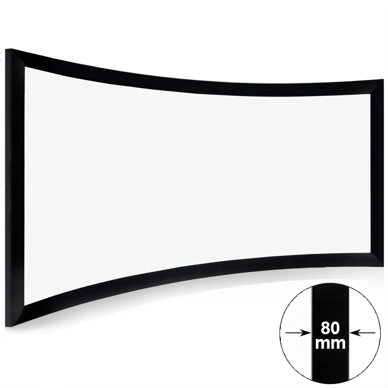XY Screens curved home theater screen personalized for ktv