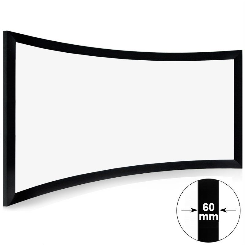 Mini Cinema Curved Projector Screen CHK60B Series