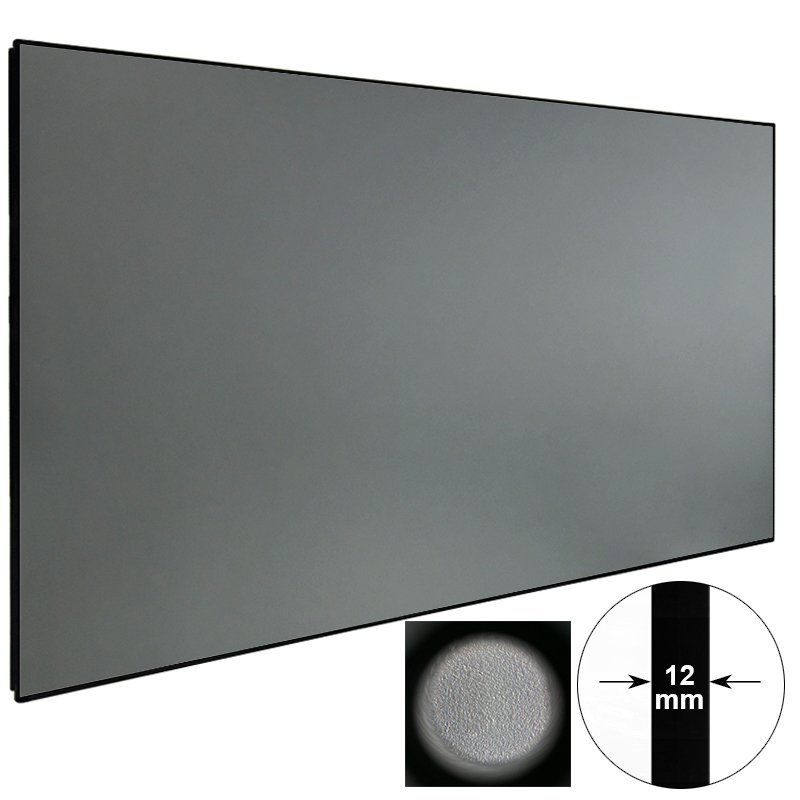 XY Screens Ambient Light Rejecting Projector Screen ZHK100B-Black Crystal Ambient Light Rejecting Projector Screen image13