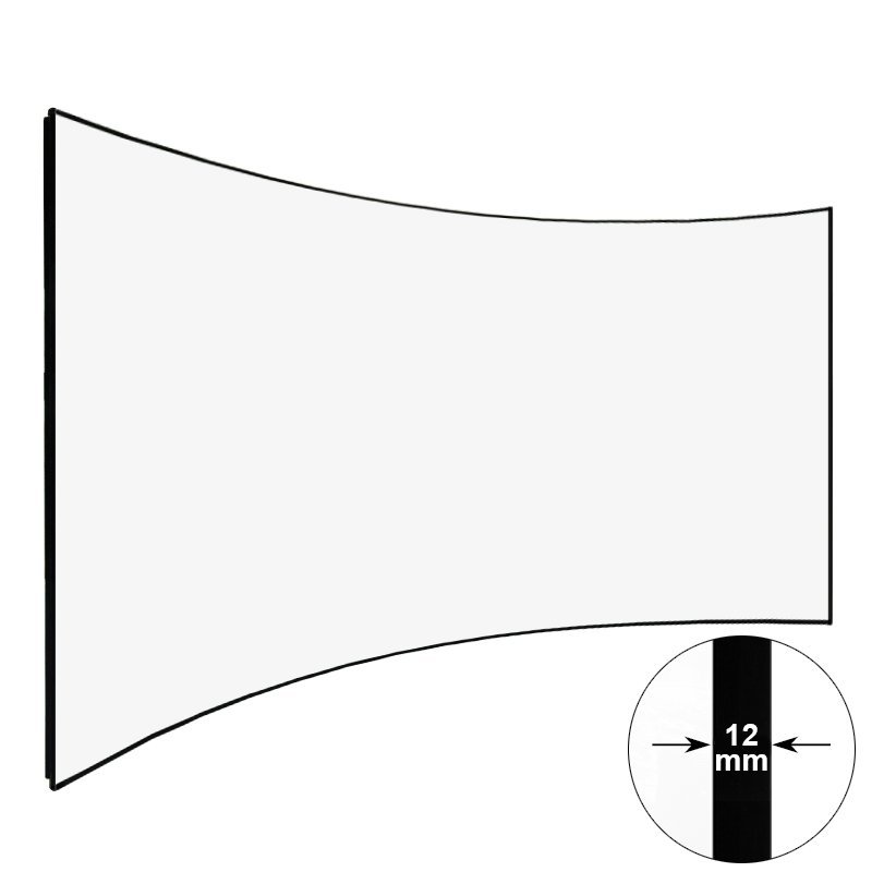 Curved Thin Bezel Home Theater Projector Screen CZHK100B Series