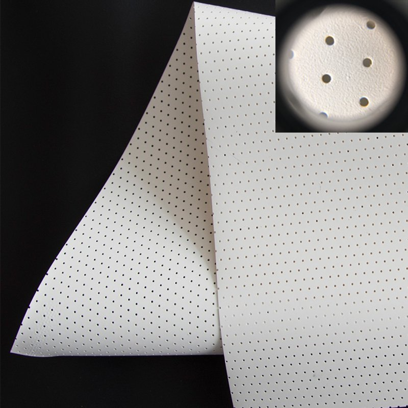 4K Perforating Acoustically Transparent Fabric Sound Max5