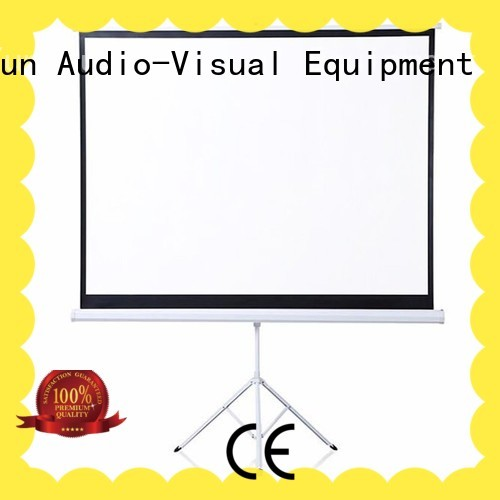 standard portable tripod projector screen wholesale for company