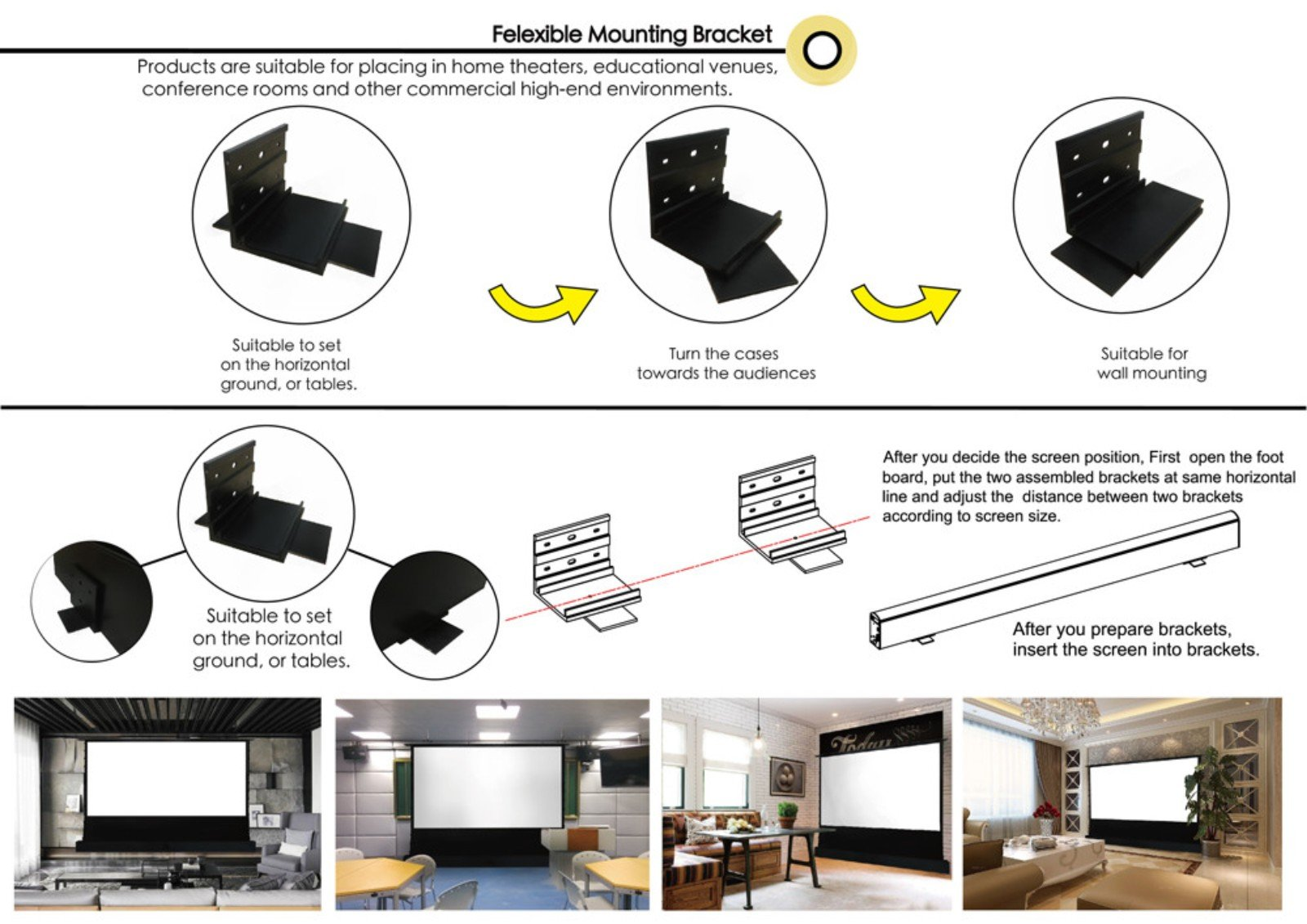 XY Screens-Find EDL-PU Portable Pull Up Projector Screen From Xiong-yun Audio-visual-5