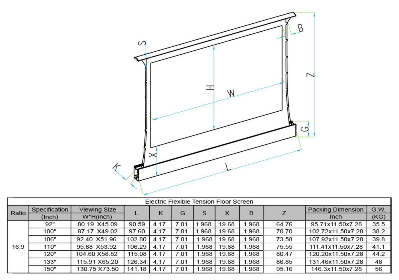 XY Screens-Find EDL-PU Portable Pull Up Projector Screen From Xiong-yun Audio-visual-8