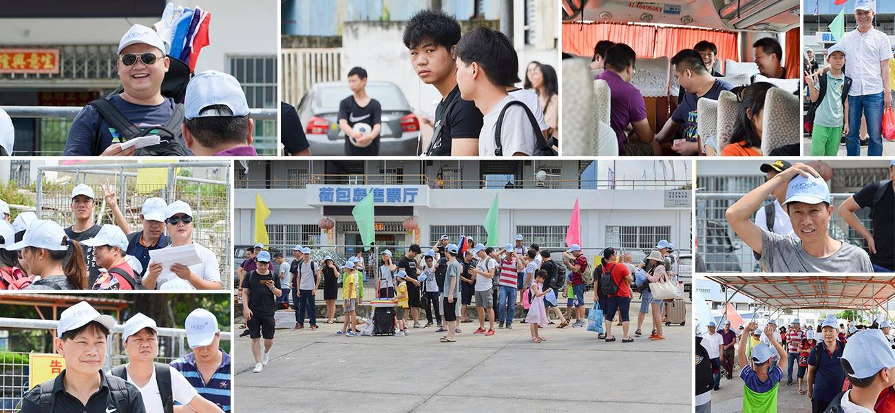 XY Screens-Company Trip to Zhuhai Hope Island-2