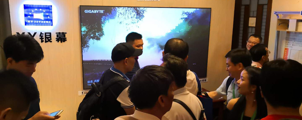 XY Screens-News | 2018 Guangzhou AV Fair-5