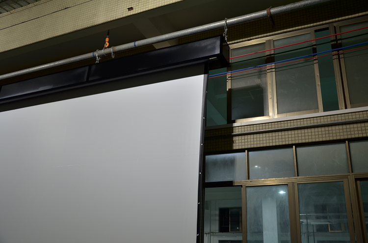 LC Series Large Motorized Screen with Steel Truss