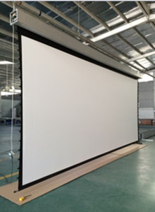 LC Series Large Motorized Screen with Steel Truss-3