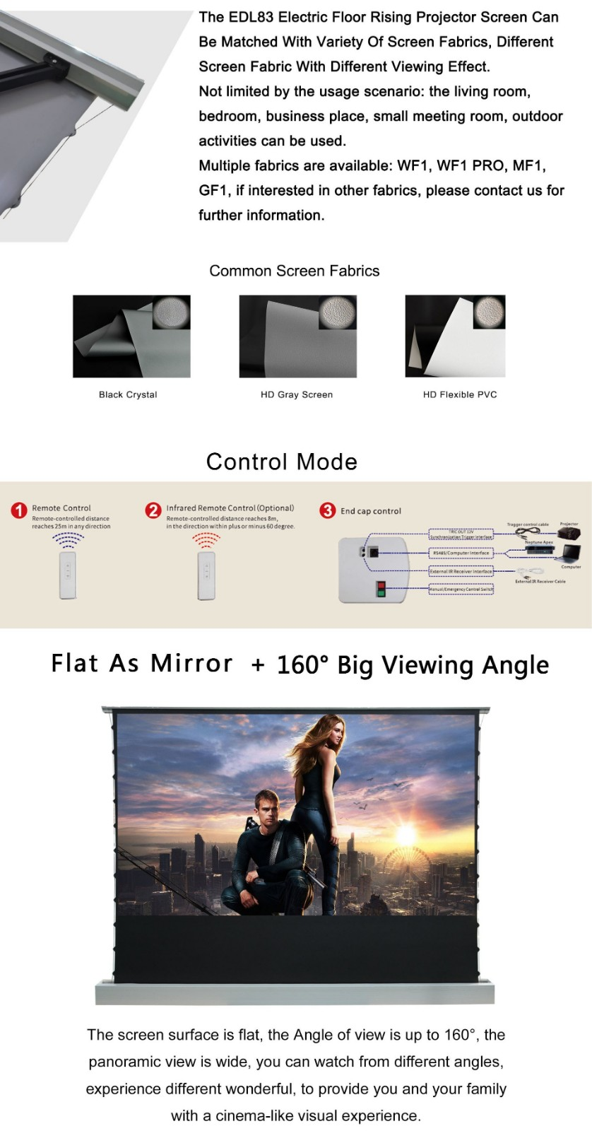 manual projection screen price inquire now for home-6