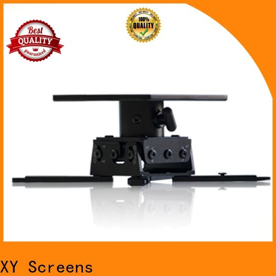 XY Screens universal video projector mount customized for PC