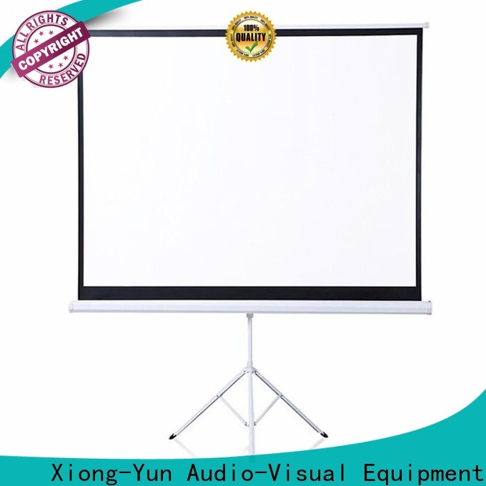 XY Screens standard tripod screen supplier for office
