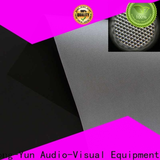 XY Screens projector cloth directly sale for thin frame projector screen