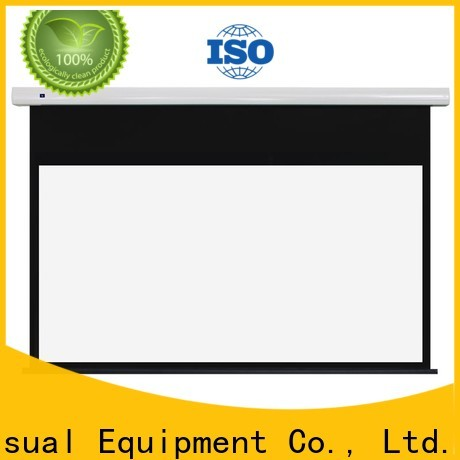 intelligent motorised projector screen personalized for rooms