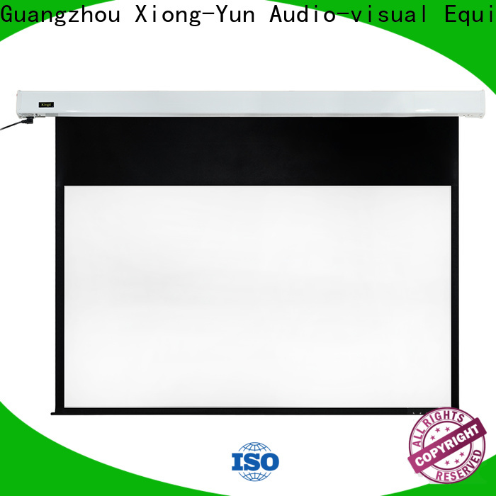 XY Screens intelligent motorized screens supplier for home